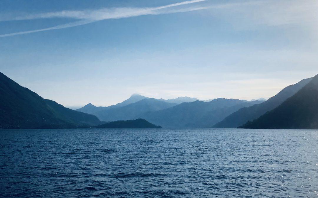 Visiting Lake Como , Italy